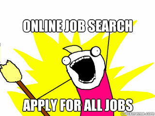 job search meme